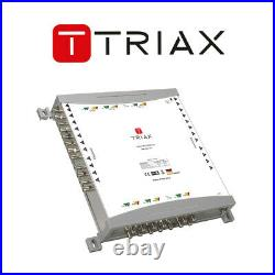 Triax TMS 1324 CE A Multiswitch 12 Satellite 1 Terrestrial input 24 Satellite