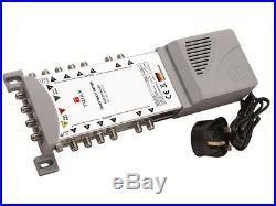 Triax TMS 5 in 12 Out Satellite & Terrestrial Multiswitch Quad Or Quattro LNB