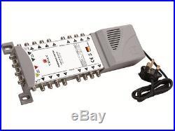 Triax TMS 5 x 16 Satellite & Terrestrial Multiswitch Quad Or Quattro LNB