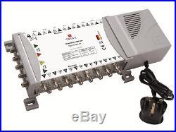 Triax TMS 5 x 32 Satellite & Terrestrial Multiswitch Quad Or Quattro LNB