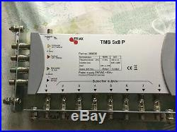 Triax TMS 5x8 P 8 output satellite TV multiswitch