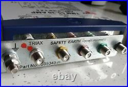 Triaxttm 55-30 Lte Amplifier 5×5 307300 With Earth Bar Satellite Multi Switch