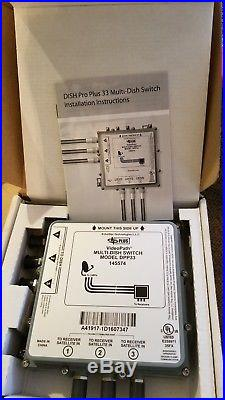 VideoPath Satellite TV Equipment Dish Pro Plus Multi-Dish Switch DPP33 145574