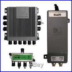WINEGARD DIRECTV SWM-840 Multi-Switch Splitter Kit For Mobile Satellite Antenna
