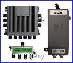 Winegard Satellite TV Antenna Single Wire Multi-Switch Kit