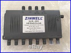Zinwell Sam 4803 4 x 8 Multi Switch DirecTV Dish Satellite